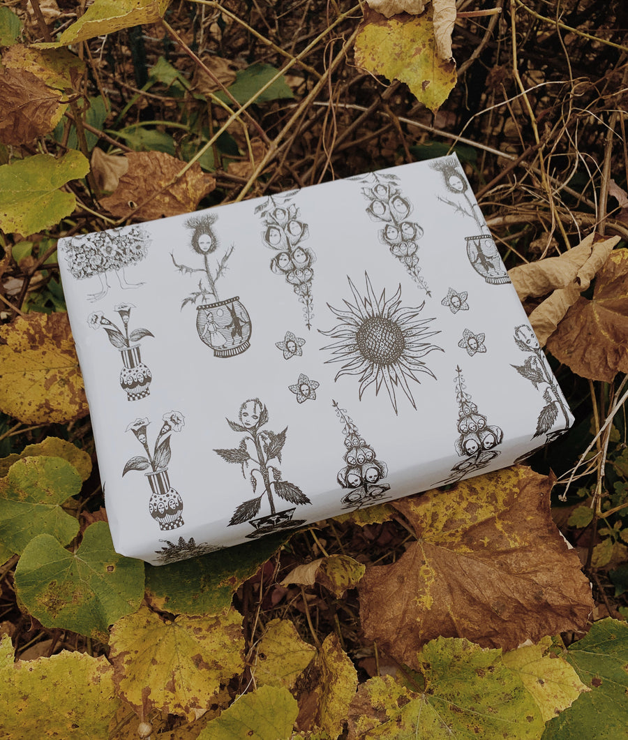 Plant Magic Wrapping Paper