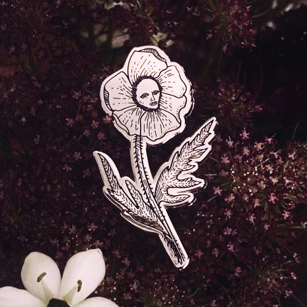 The Poppy Pin
