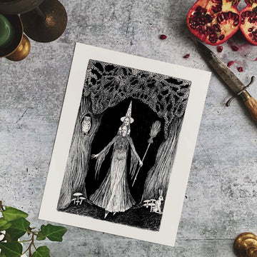 The Forest Witch Fine Art Print