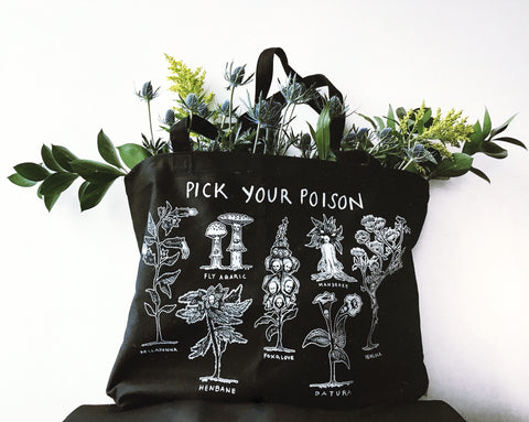 *PRE-SALE* Pick Your Poison Tote Bag