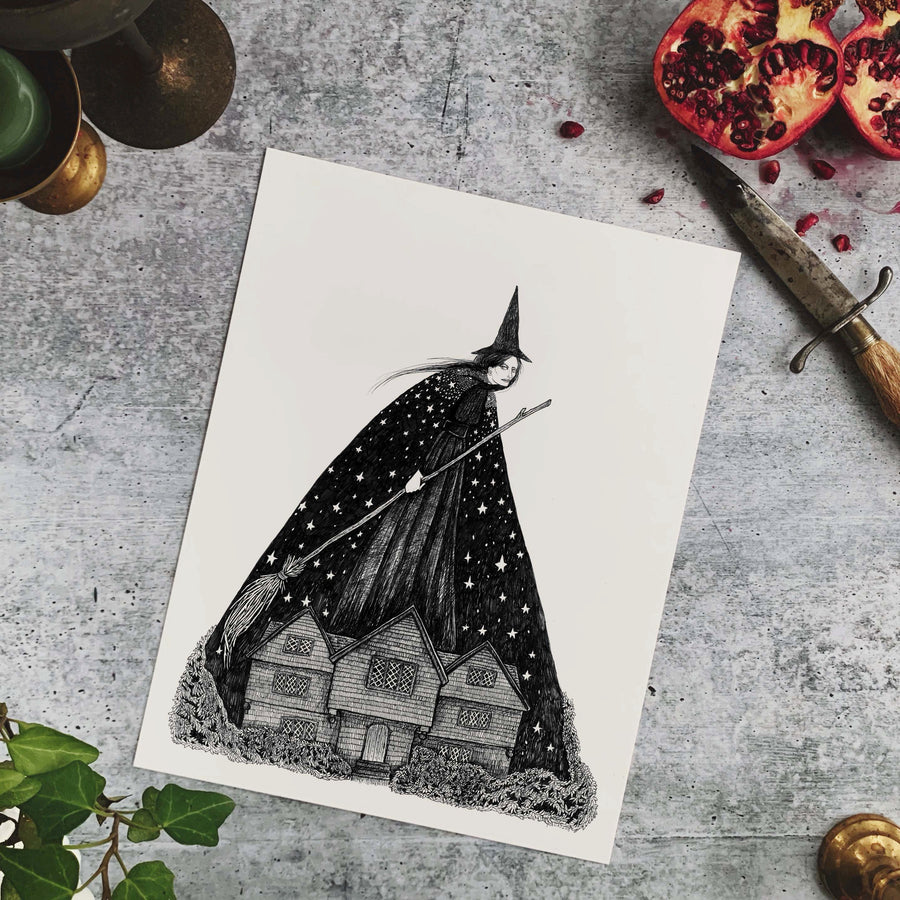 Dreams in the Witch House Fine Art Print