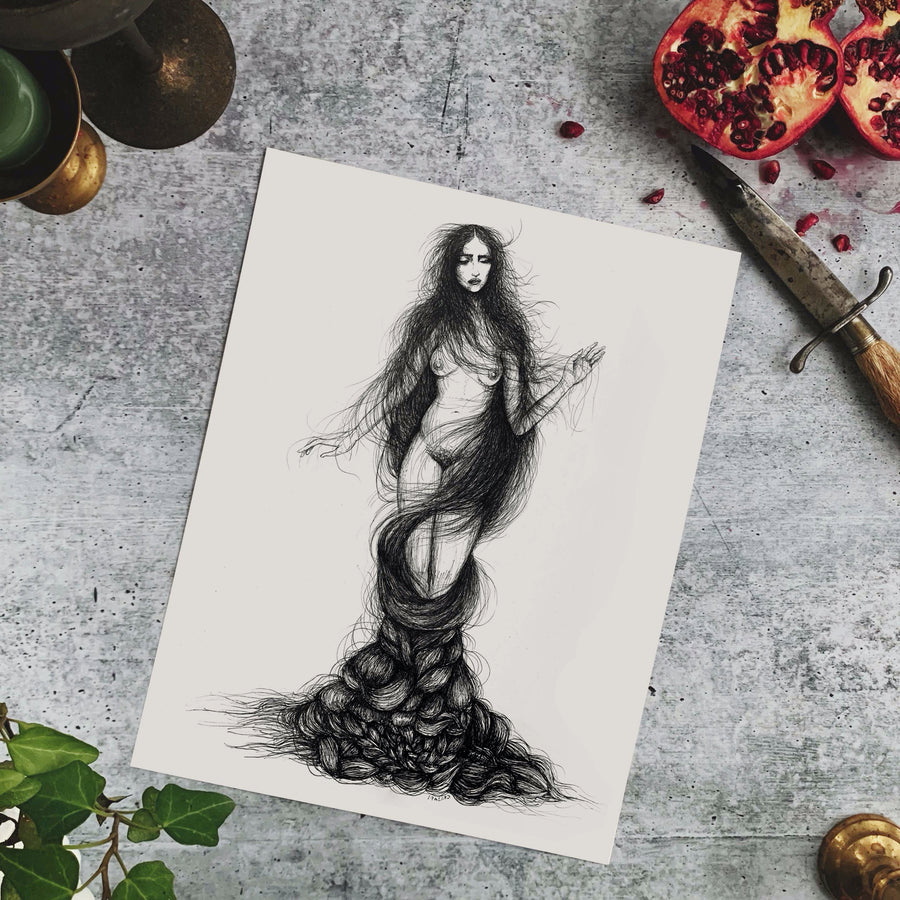 The Nymph Fine Art Print
