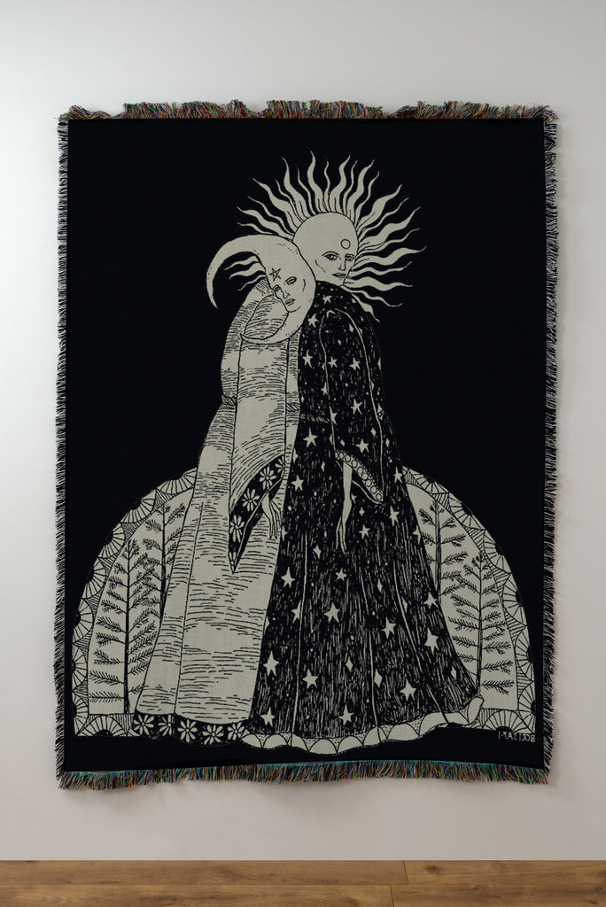 Pre-Sale: The Alchemical Marriage Woven Blanket / Tapestry