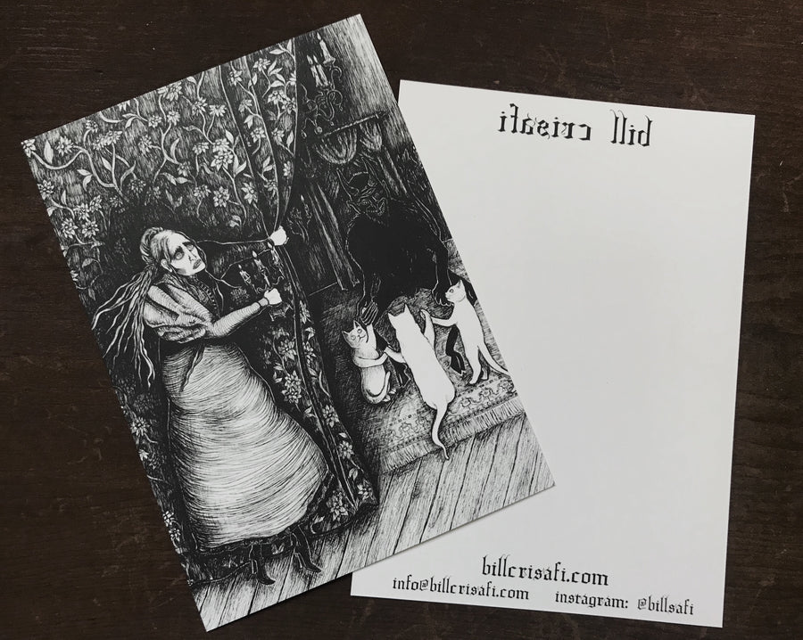 Illustrated Postcards