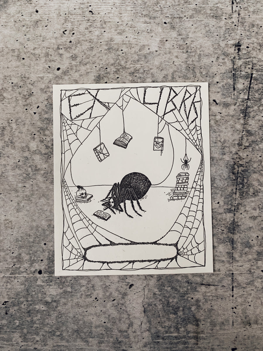 Spider Bookplate