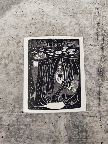 Pond Sirens Bookplate