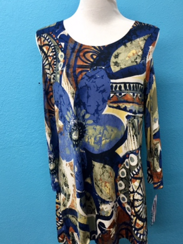 Caribe Cool Shoulder Tunic