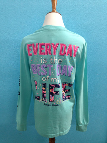 JLB Every Day is the Best Day LS Tee