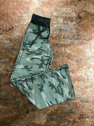 Stretchy Camo Pants