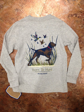 Burlebo BOYS Born to Hunt LS Tee