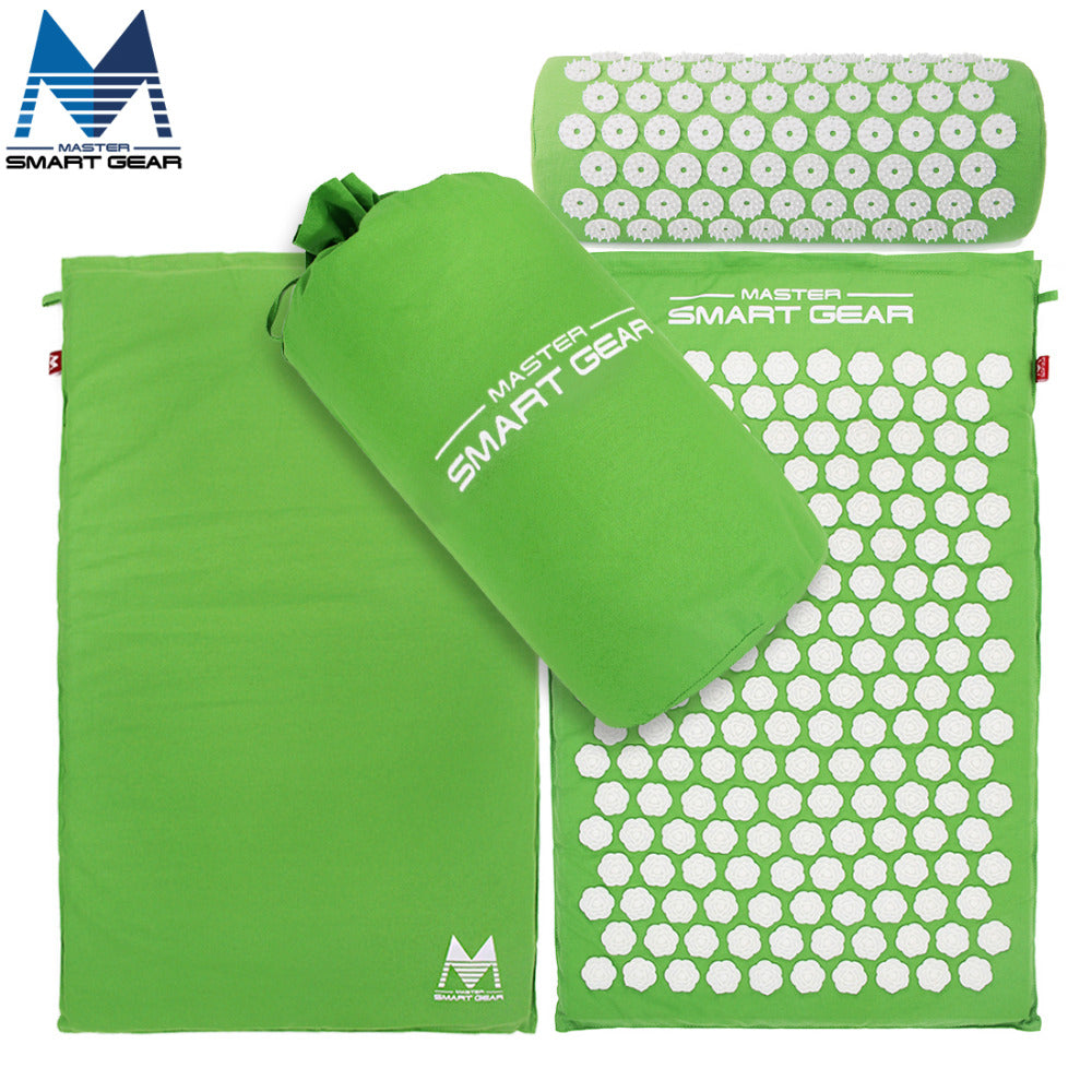Yoga Mat Acupressure Mat and Pillow Set - My Vibration Plate