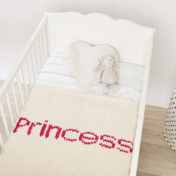 Princess bed blanket