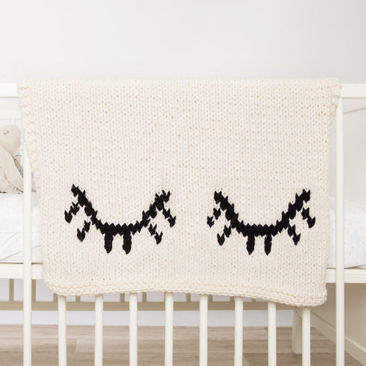 Sleepy eyes blanket