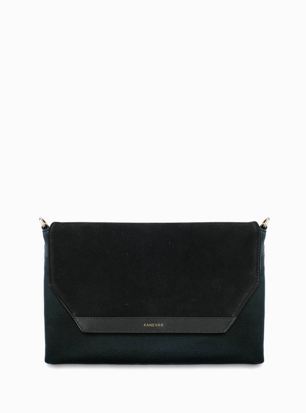 Flap - Suede black