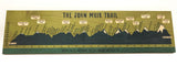 The John Muir Trail Wood Art Print