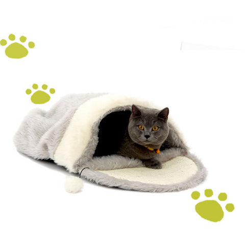 Cats Grey and White  Sleeping Bag