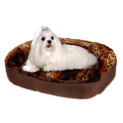 Leopard Super Soft Luxurious Pet Sofa