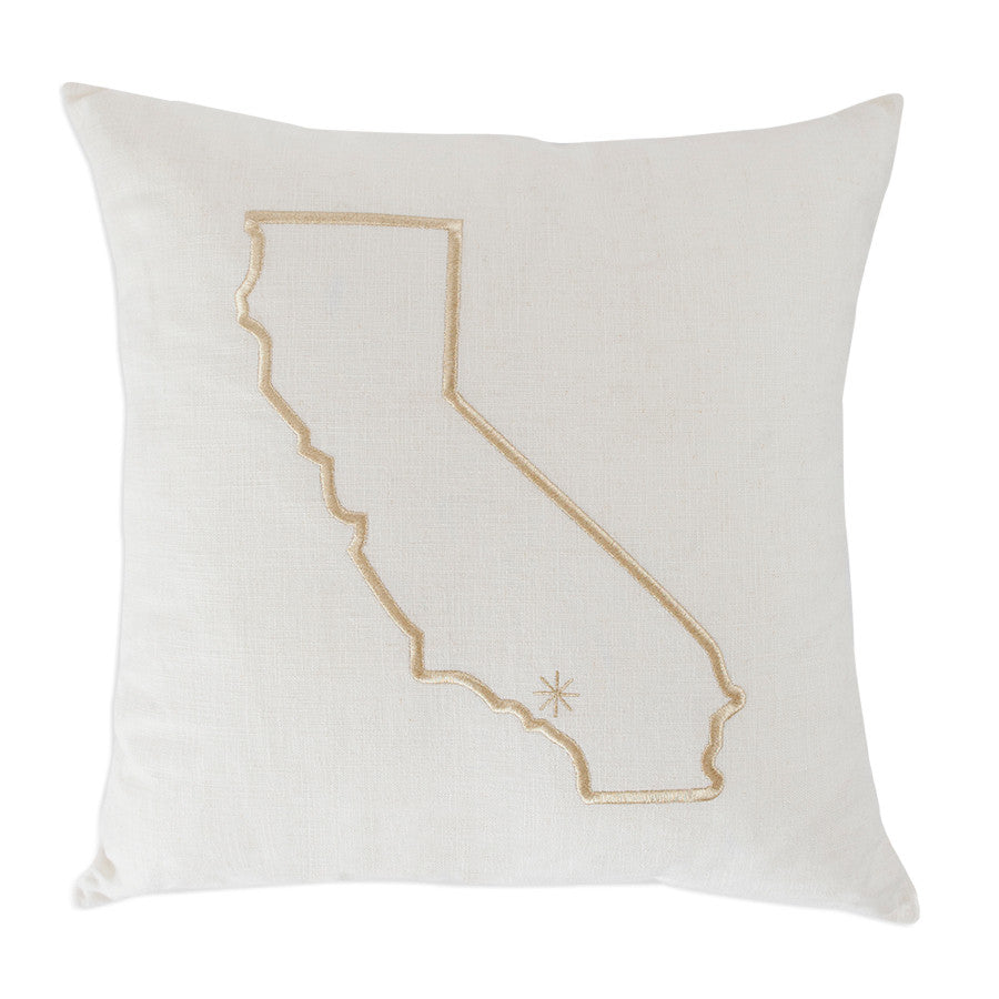 California Dreamin' Pillow with Star