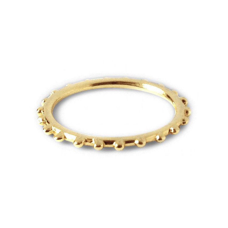 Layering Ring - Yellow Gold