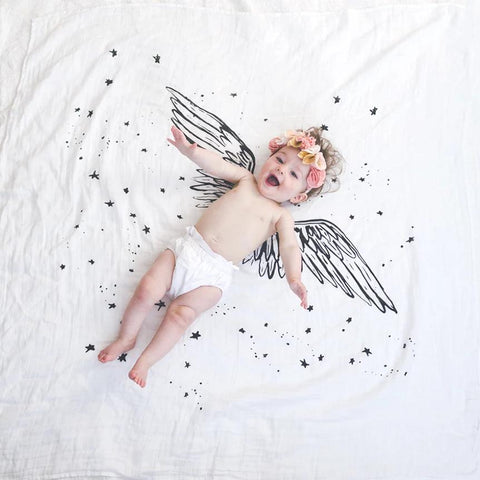 Angel Wing Baby Blanket