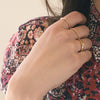 Geo Stacking Ring | Triangle