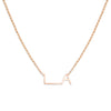 LA ORIGINAL NECKLACE - ROSE GOLD VERMEIL