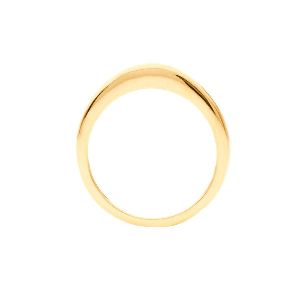 Geo Stacking Ring | Oval