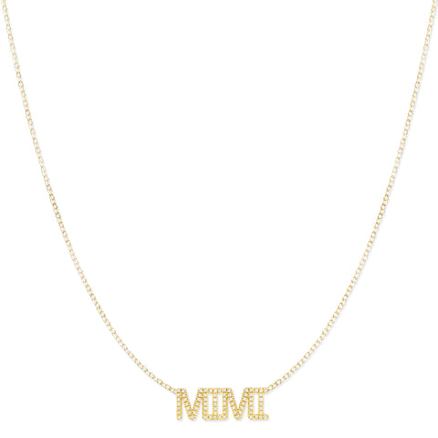 Pavé MIMI Necklace