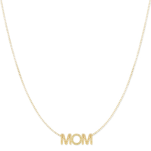 Pavé MOM Necklace