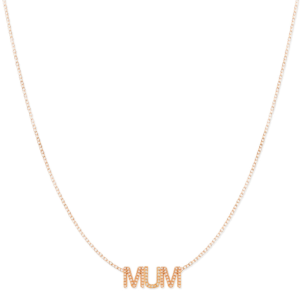 Pavé MUM Necklace