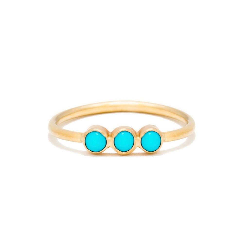 Triplet Ring | Turquoise