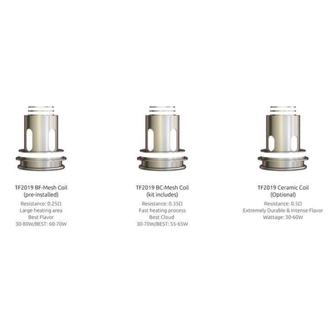 SMOK TF2019 Replacement Coils Coils LA Vapor Wholesale