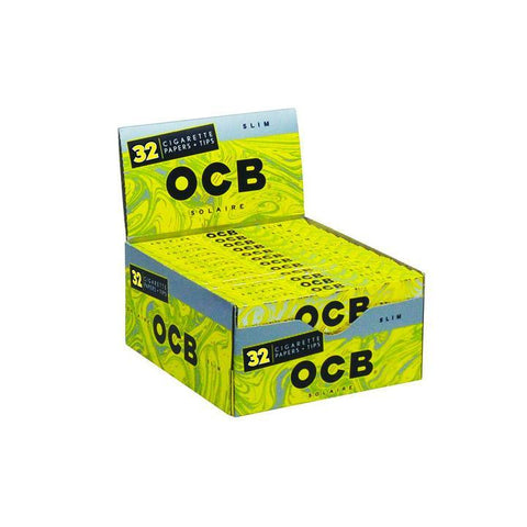 OCB Solaire Slim Papers Alternative LA Vapor Wholesale