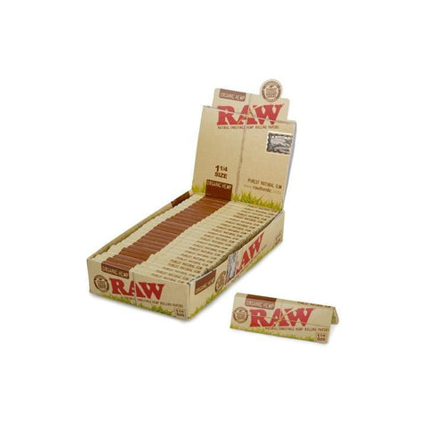 RAW Organic Hemp 1 1/4 Alternative LA Vapor Wholesale