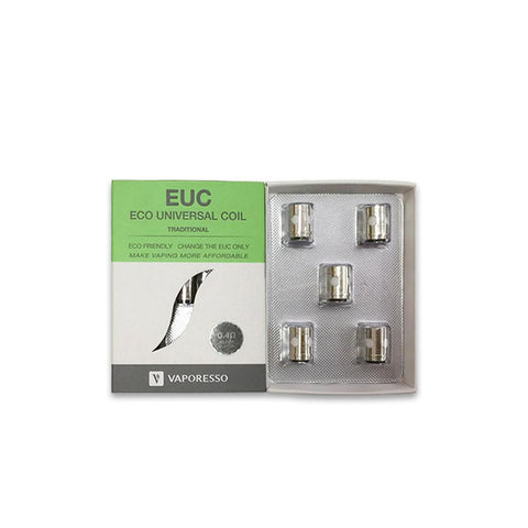 Vaporesso EUC Coil 0.4ohm Traditional (5/pack) Coils LA Vapor Wholesale