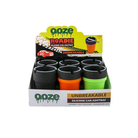 Ooze Roadie Silicone Car Ashtray Display Alternative LA Vapor Wholesale