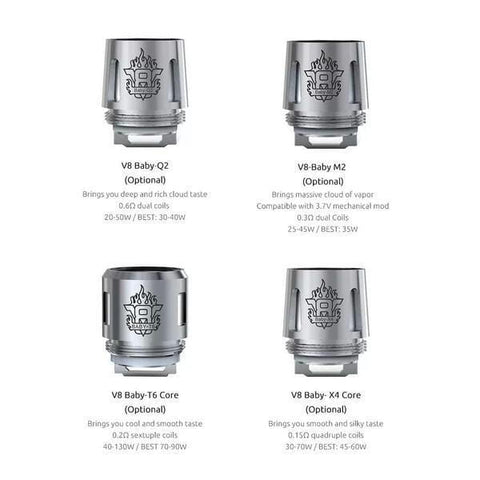 Smoktech TFV8 Baby Coils (5/pack)
