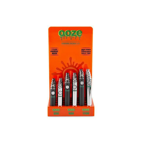 Ooze Vape Battery Display Alternative LA Vapor Wholesale