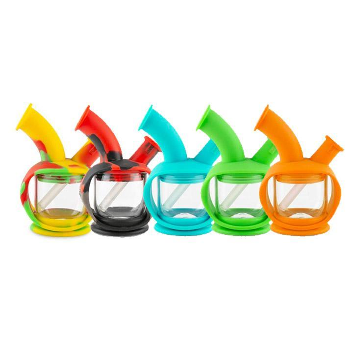 Ooze Kettle Silicone Bubbler Alternative LA Vapor Wholesale