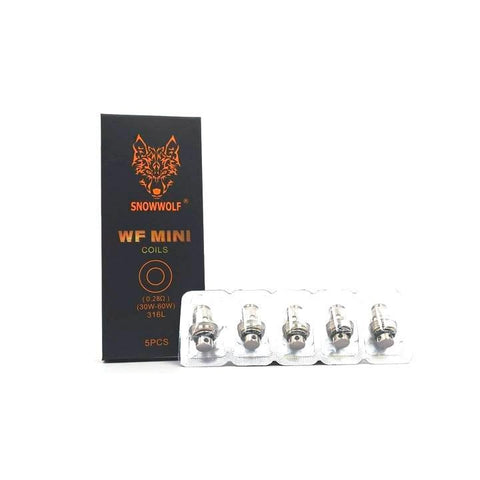 Snowwolf WF Mini Coils Coils LA Vapor Wholesale