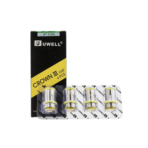 Uwell Crown 3 Coils (4/pack) Coils LA Vapor Wholesale