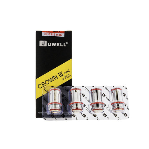 Uwell Crown 3 Coils (4/pack)