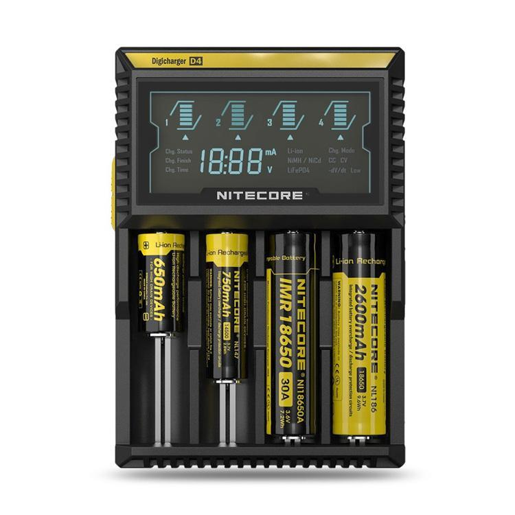 Nitecore D4 Accessories LA Vapor Wholesale