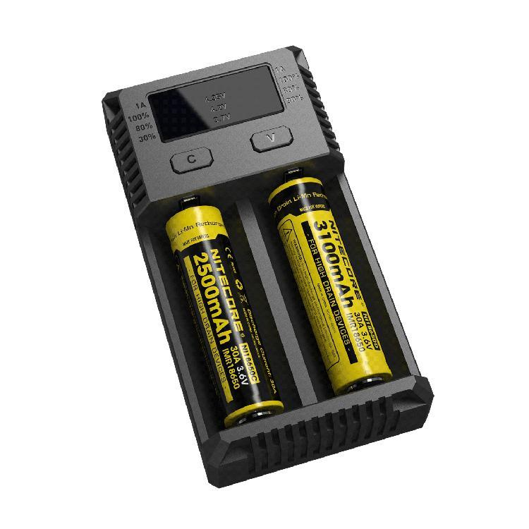 Nitecore i2 Accessories LA Vapor Wholesale