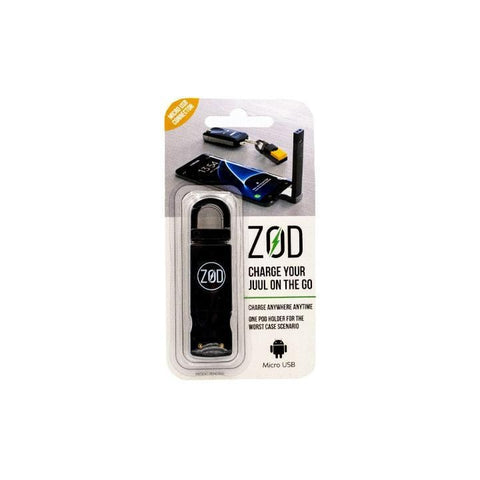 ZodCharger Juul Charger Keychain Accessories LA Vapor Wholesale