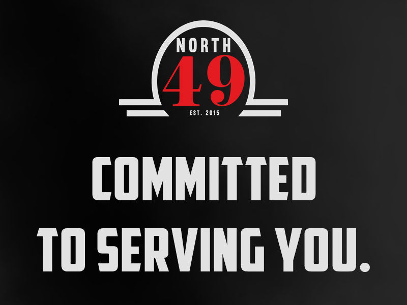 Committed to serving you banner.