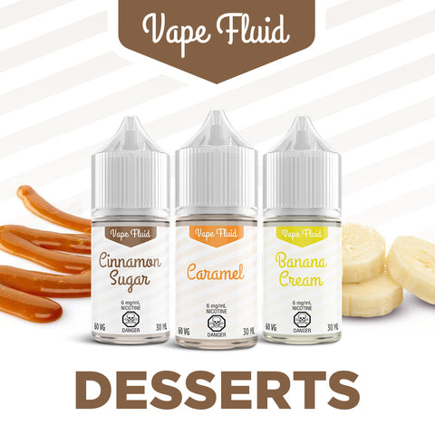 VapeFluid - Desserts 30ml