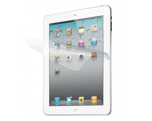 Screen Protective Film Cover w/ High Transparency Finish for iPad 2 iPad 3 HD