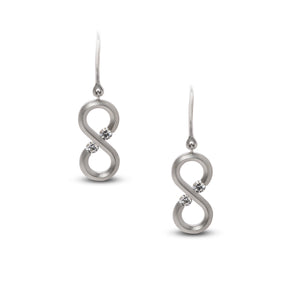 Infinity Mini Drop Earrings