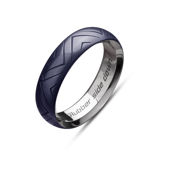 Midnight Blue Tire Band